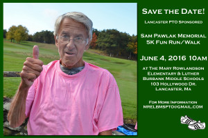 Pawlak 5K Save the Date!
